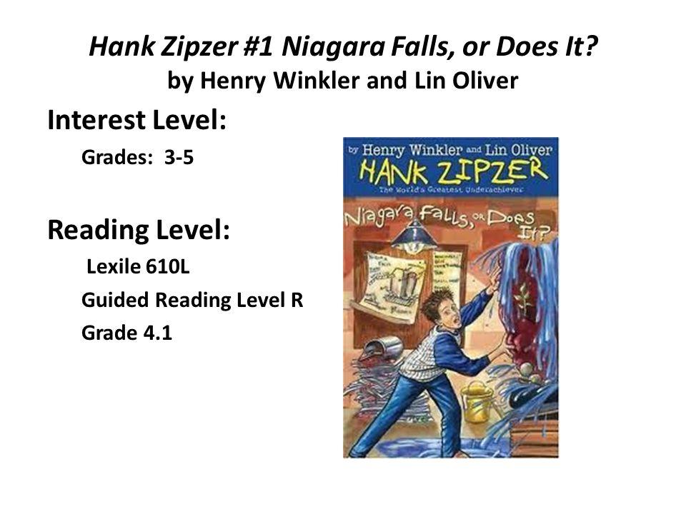 Interest Level: Reading Level:
