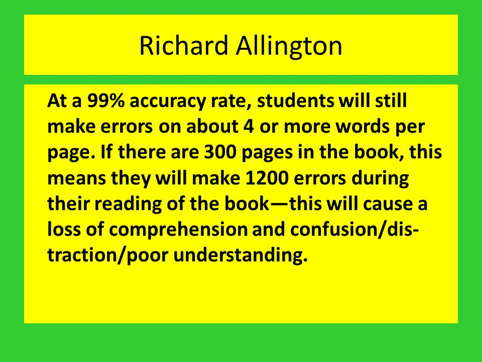 Richard Allington
