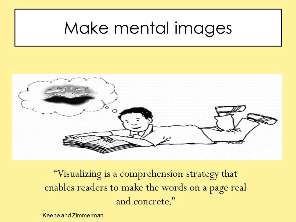 Make mental images