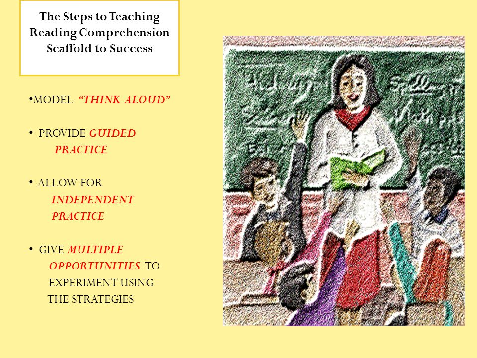 The Steps to Teaching Reading Comprehension Scaffold to Success