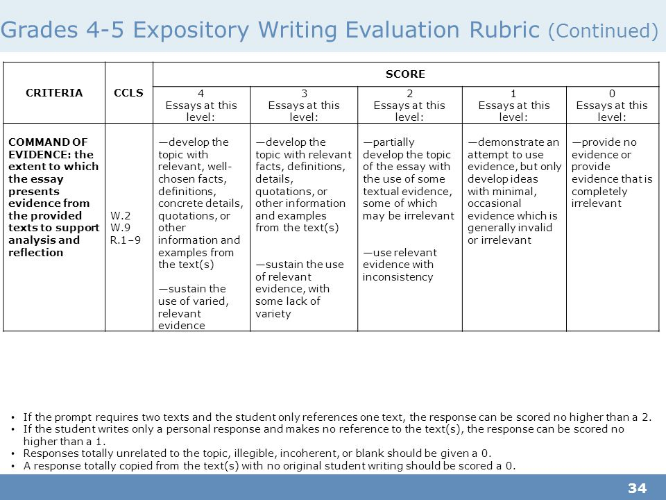Expository writing essay examples high school'