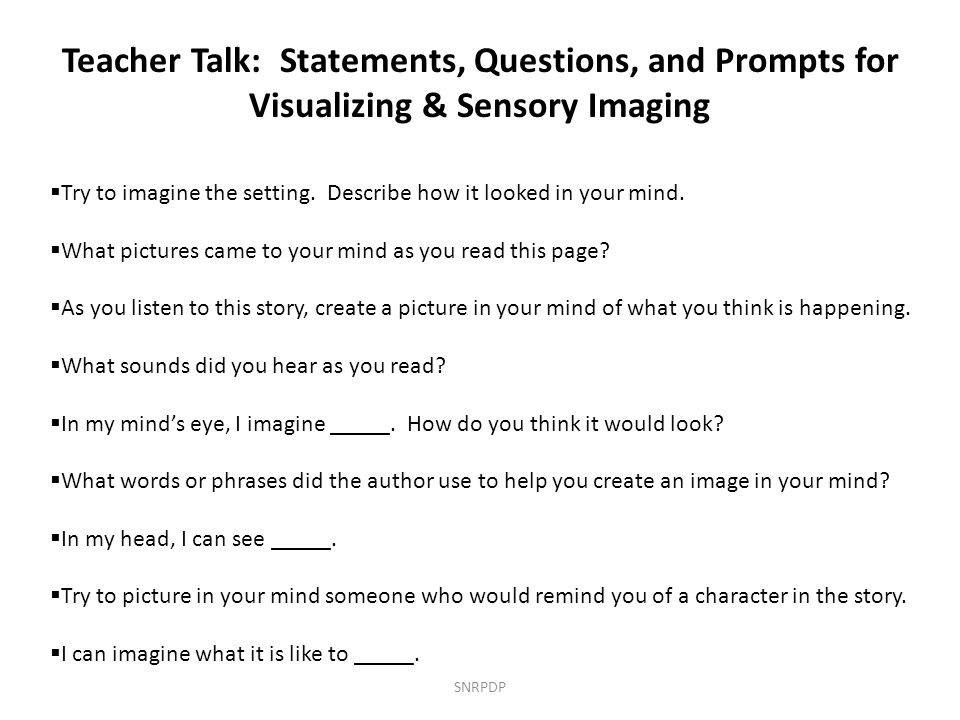 Teacher Talk: Statements, Questions, and Prompts for