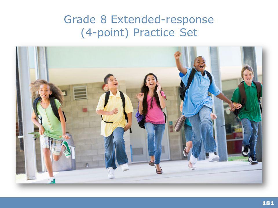 Grade 8 Extended-response