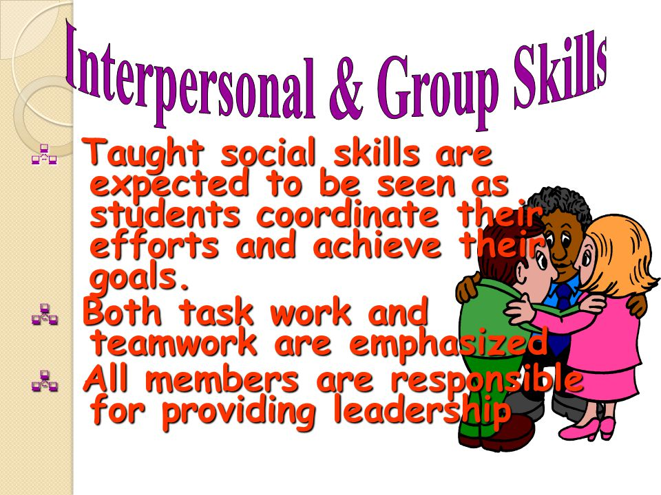 Interpersonal & Group Skills