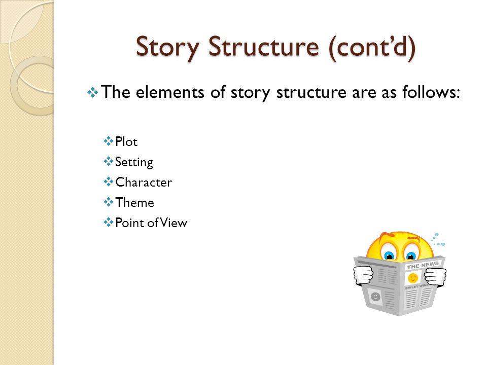 Story Structure (cont'd)