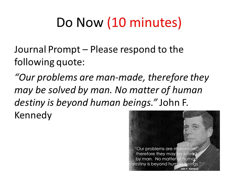 Do Now (10 minutes)