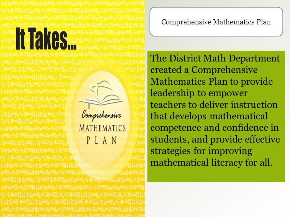 Comprehensive Mathematics Plan
