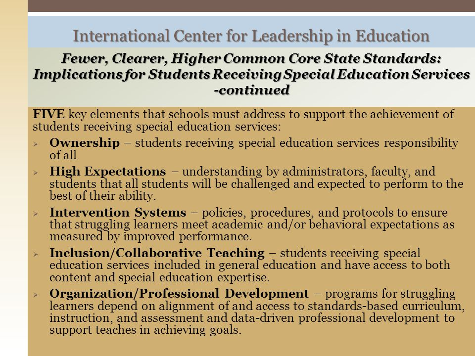 International Center for Leadership in Education