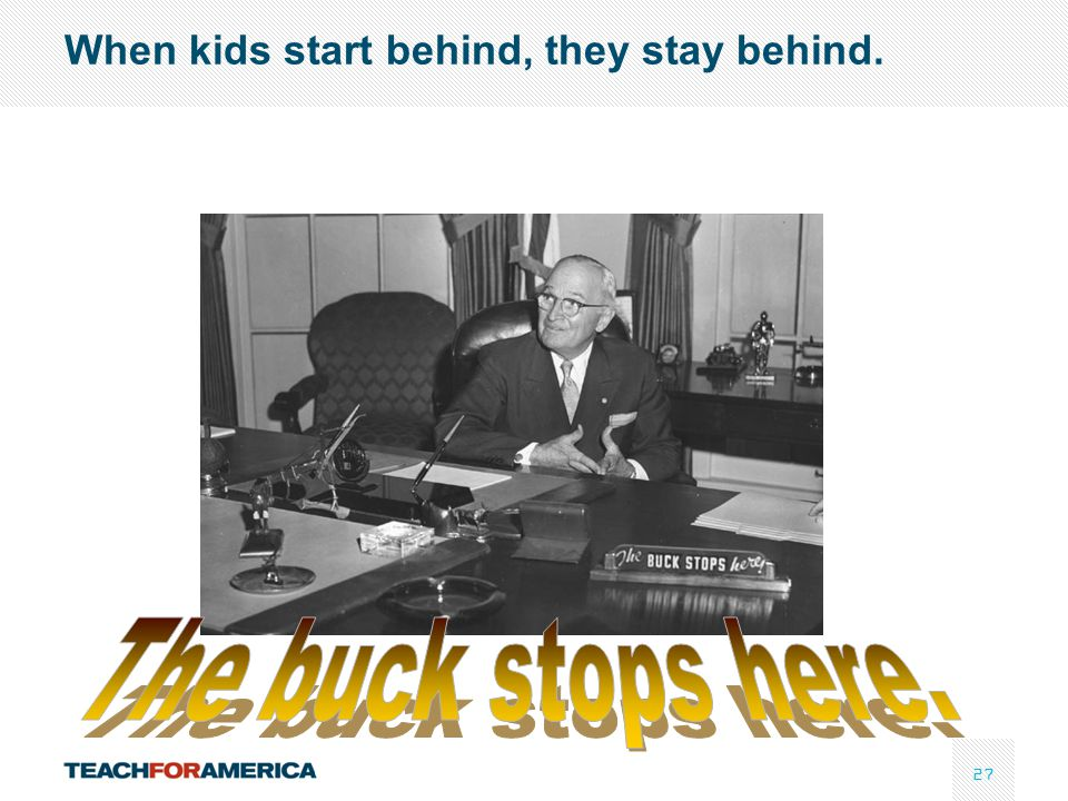 When kids start behind, they stay behind.