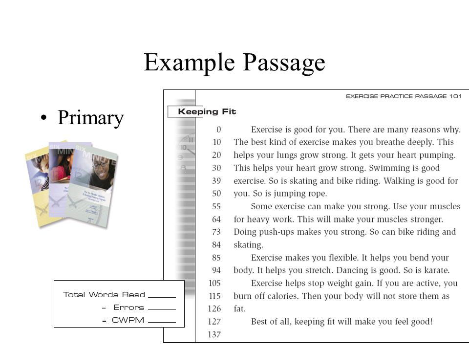 Example Passage Primary