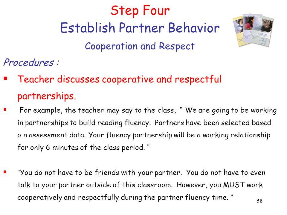 Establish Partner Behavior
