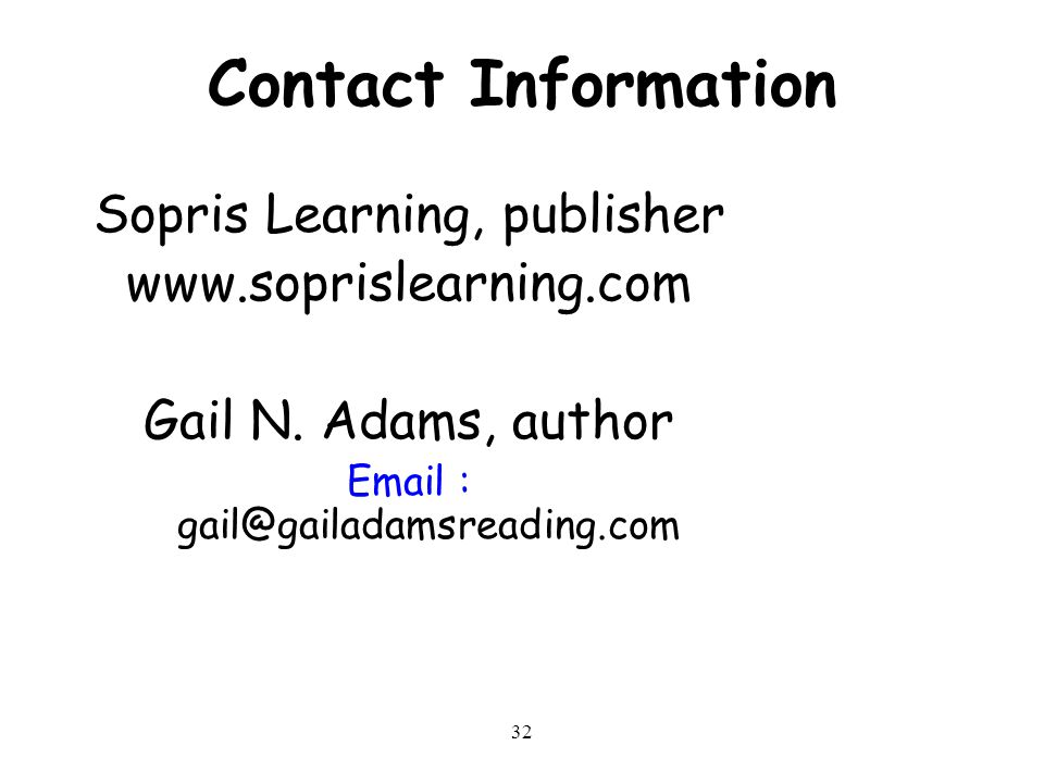 Sopris Learning, publisher