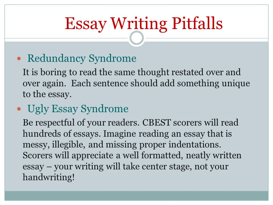 Best Way to Write CBEST Essay
