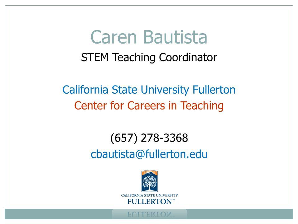 Caren Bautista STEM Teaching Coordinator