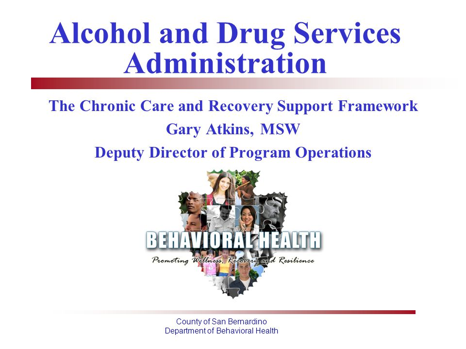 Alcohol and Drug Services Administration