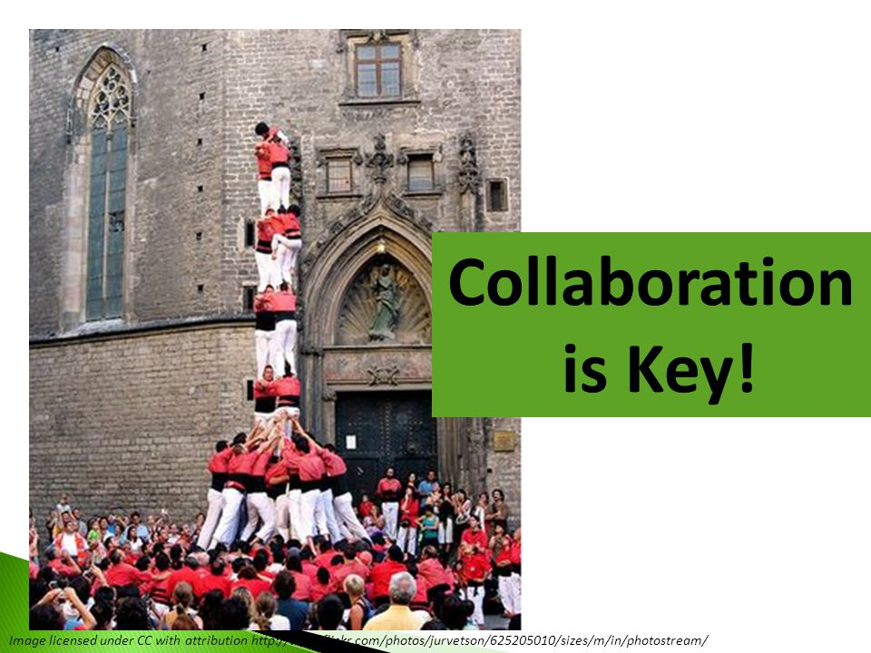 Collaboration is Key!