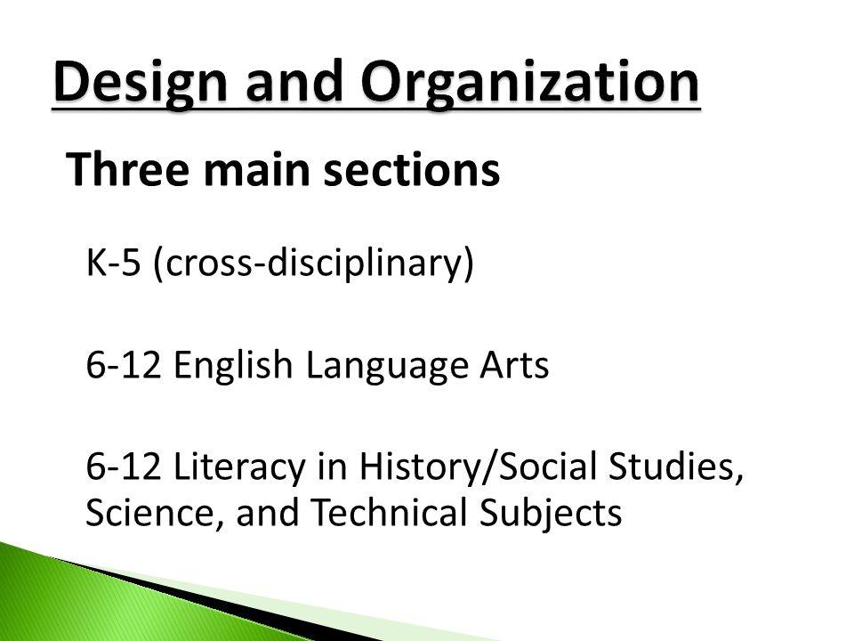 Design and Organization