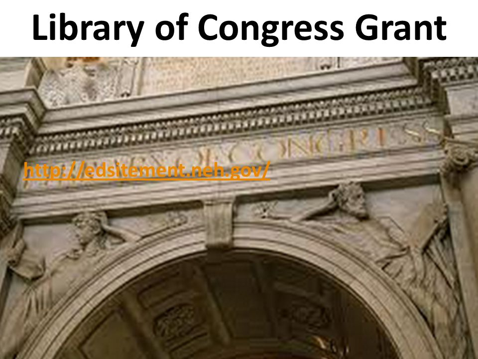 Library of Congress Grant