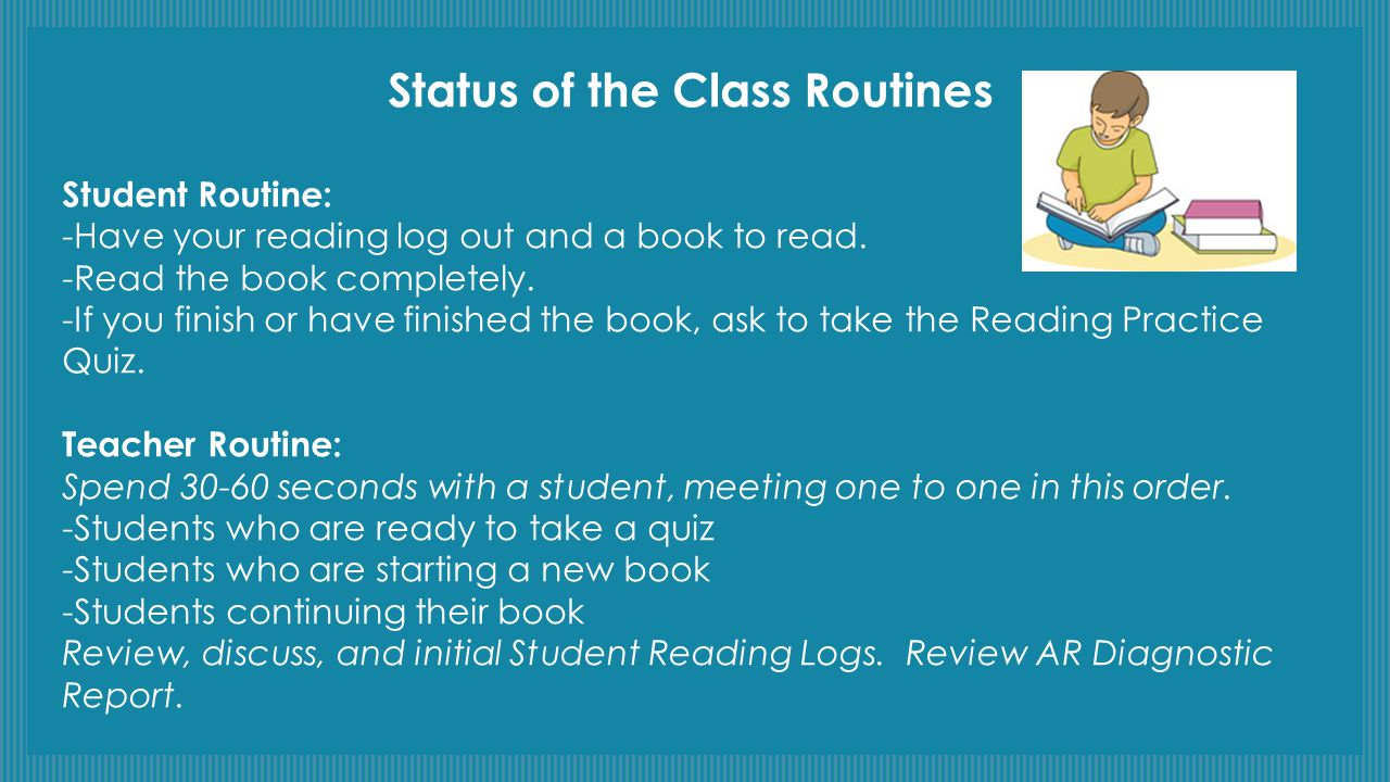 Status of the Class Routines