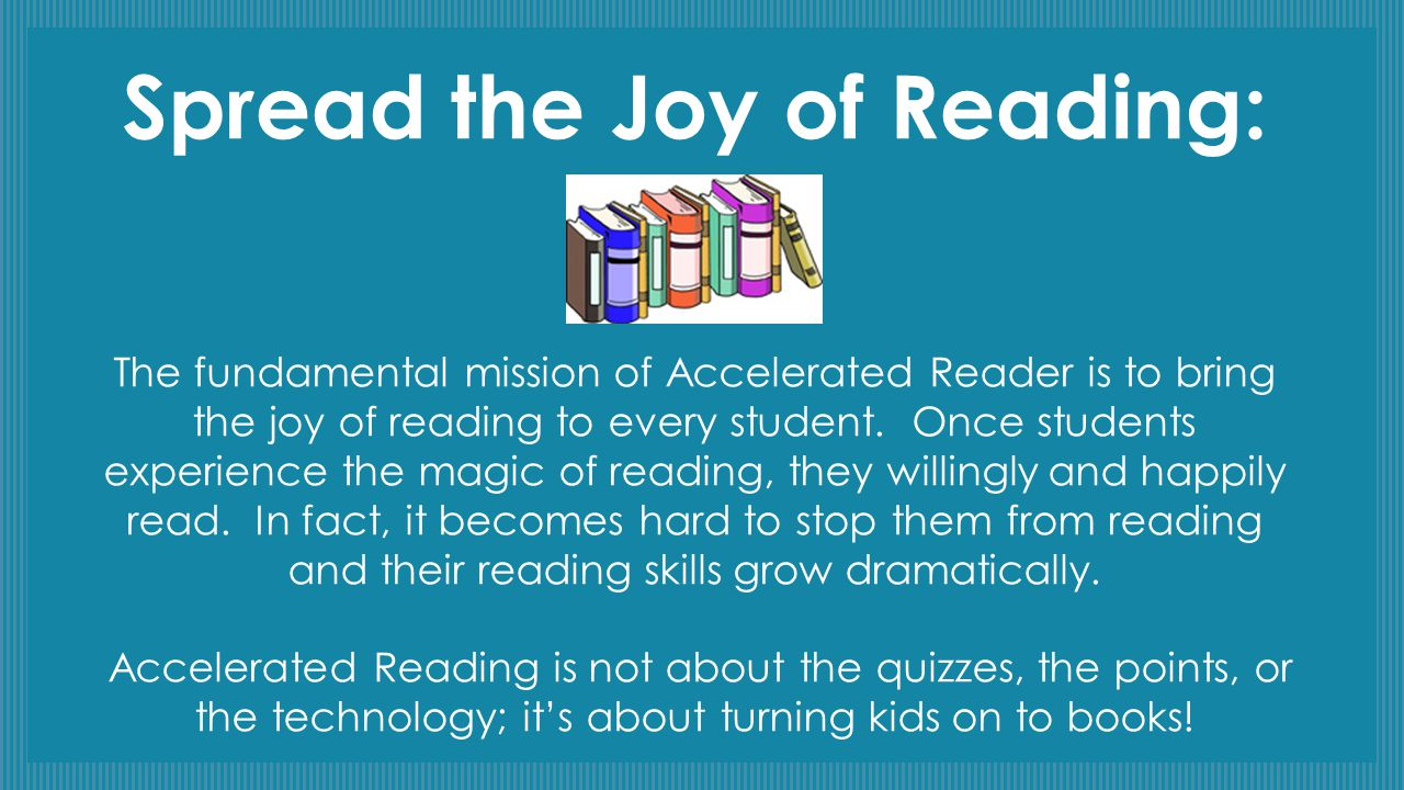 Spread the Joy of Reading: