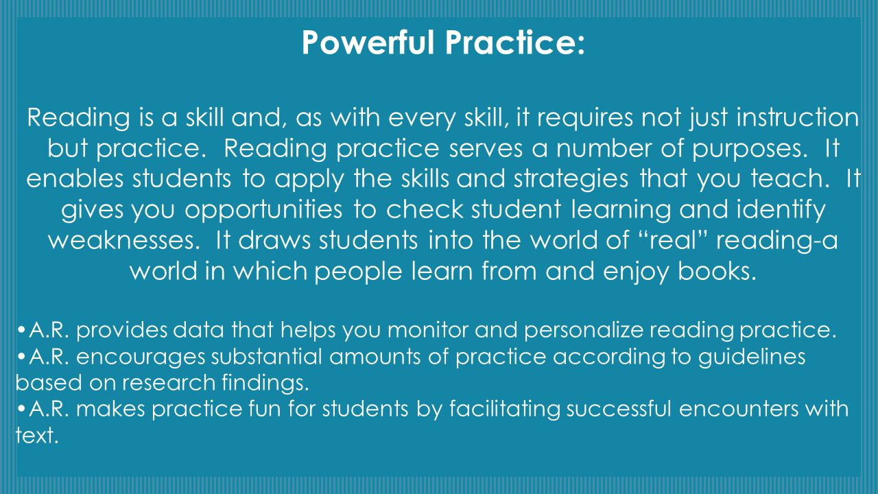 Powerful Practice: