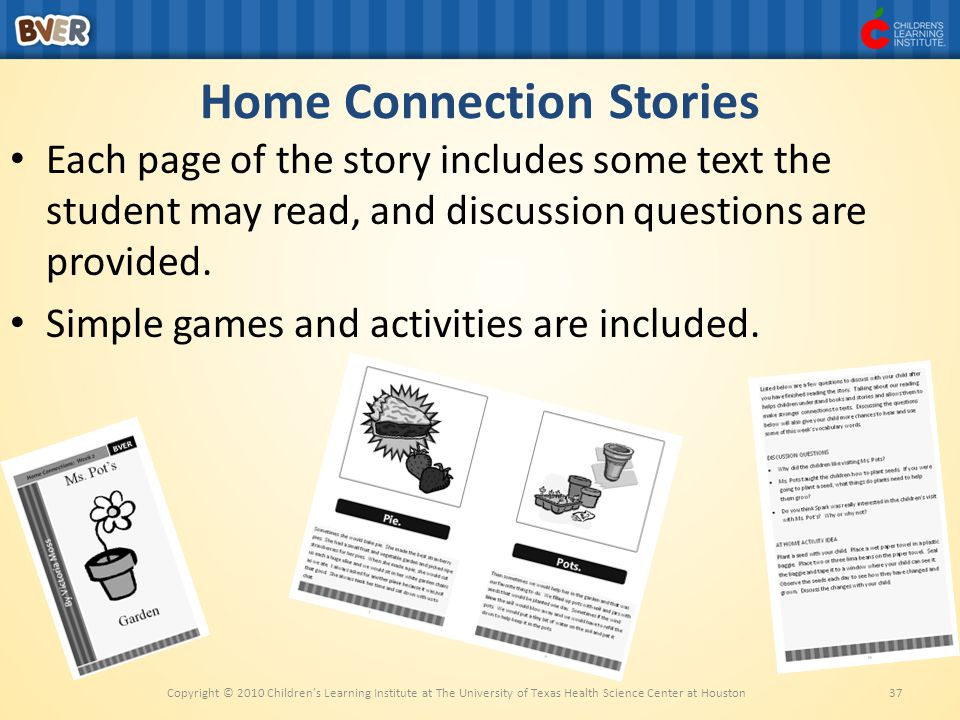 Home Connection Stories