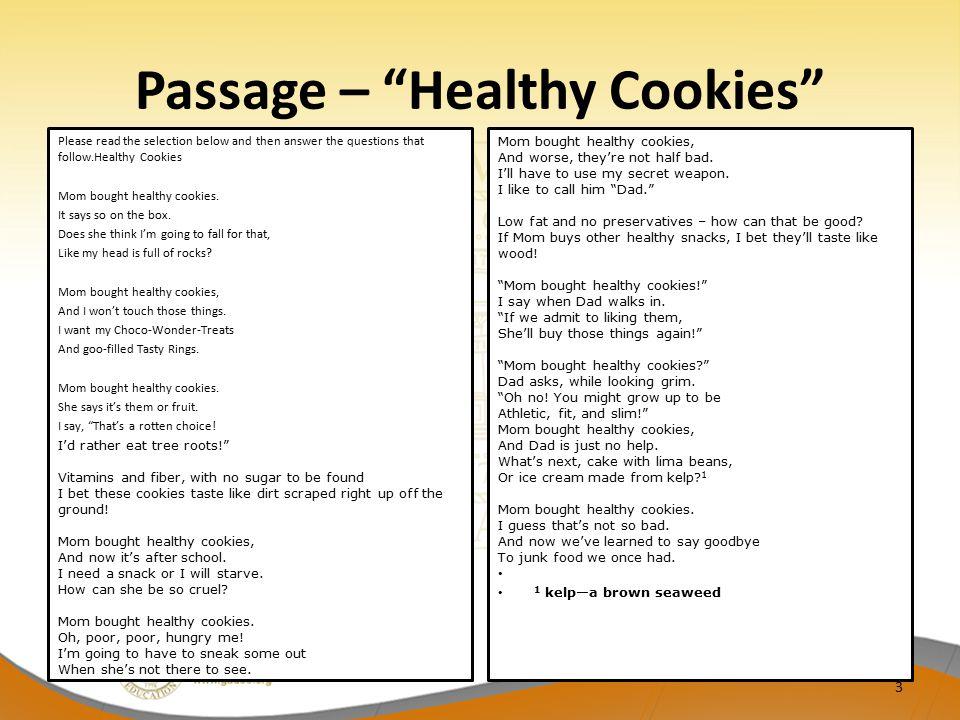Passage – Healthy Cookies