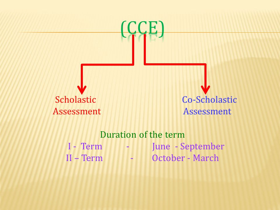 II – Term - October - March