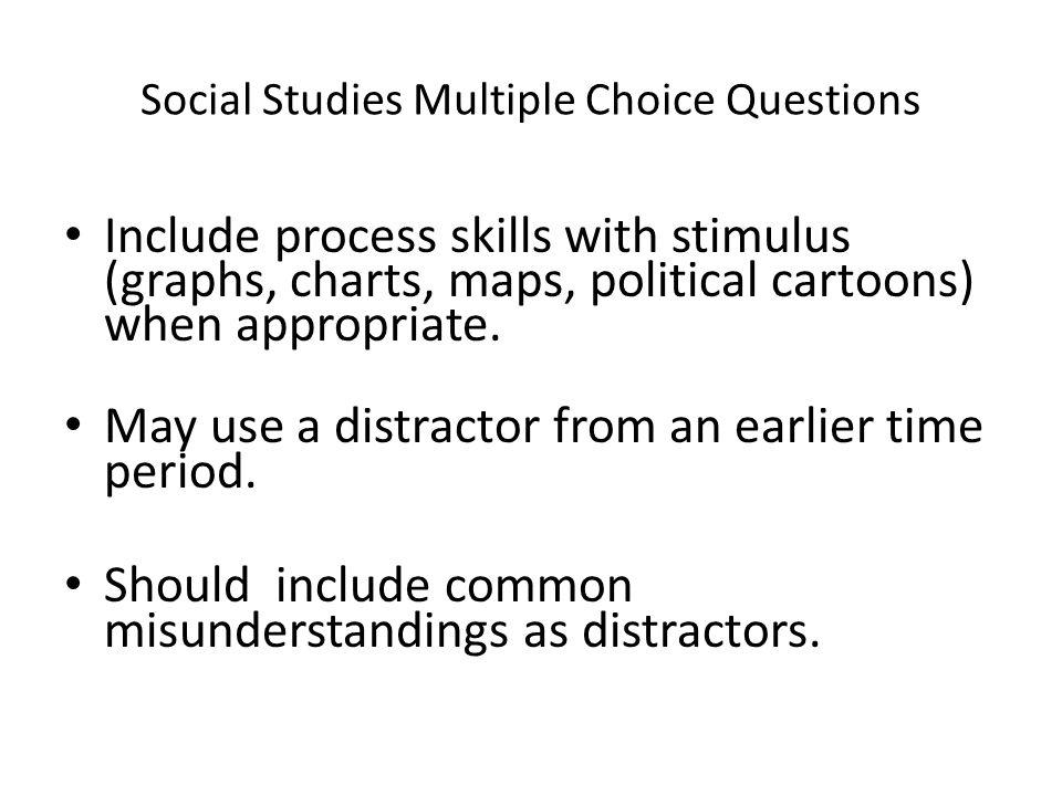 Social Studies Multiple Choice Questions