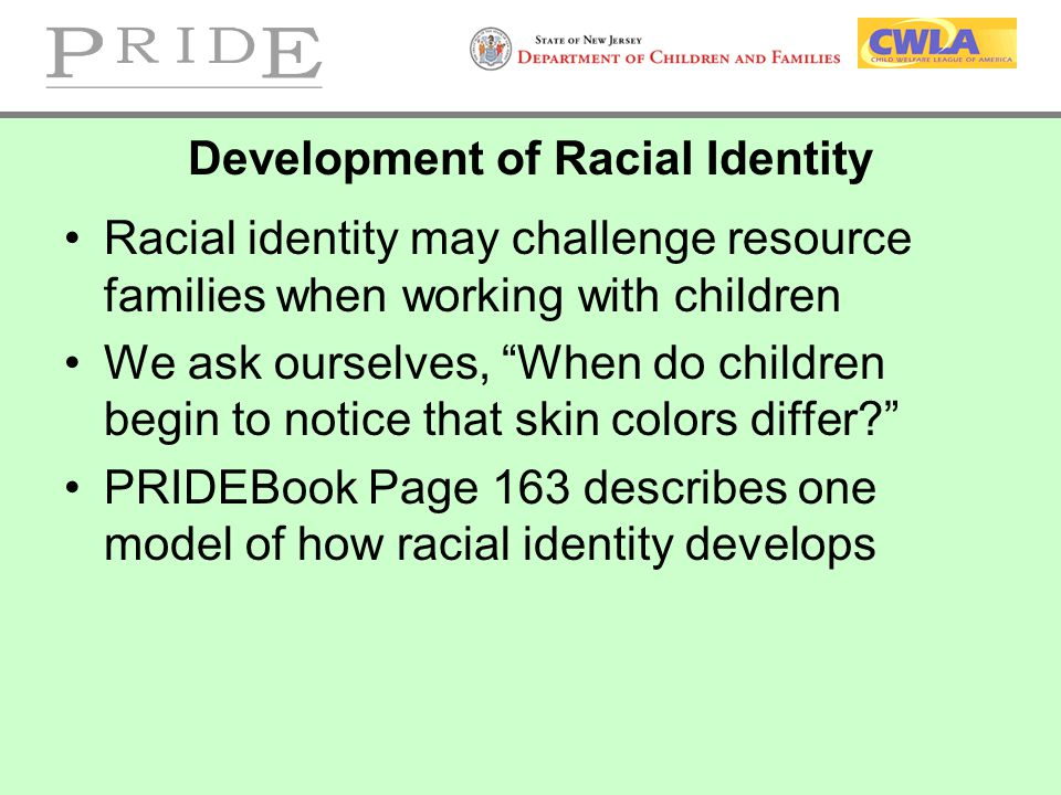 Development of Racial Identity