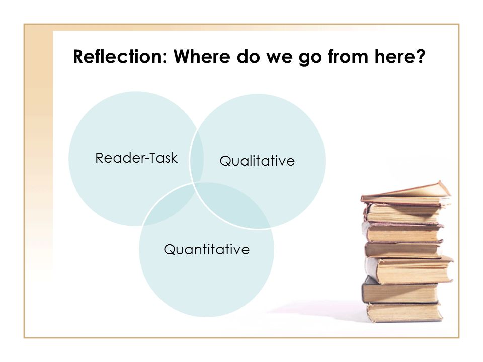 Reflection: Where do we go from here