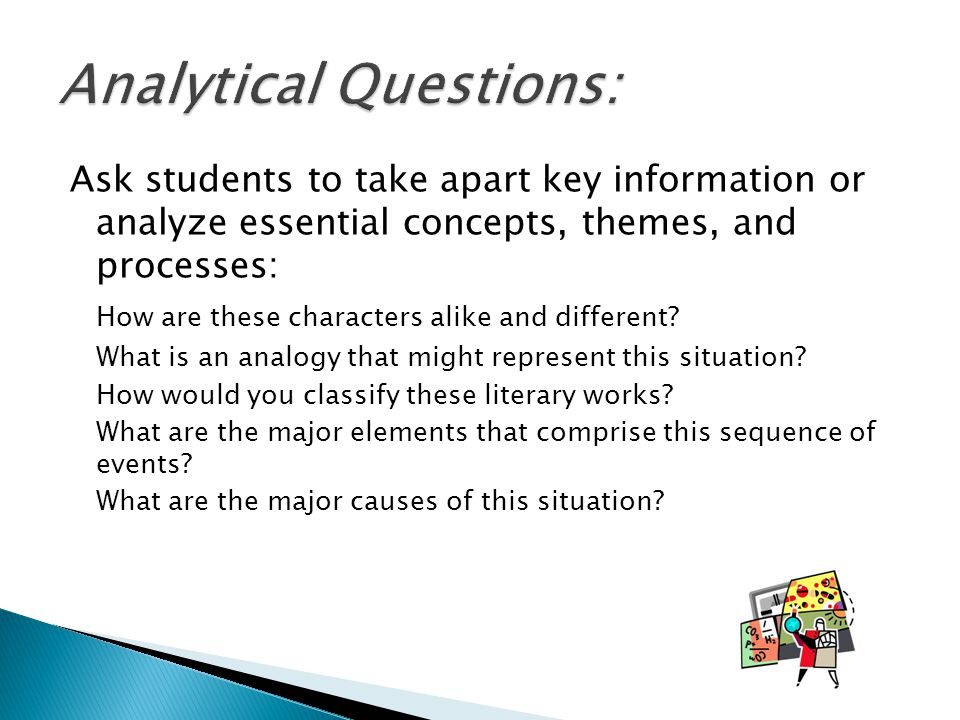 Analytical Questions: