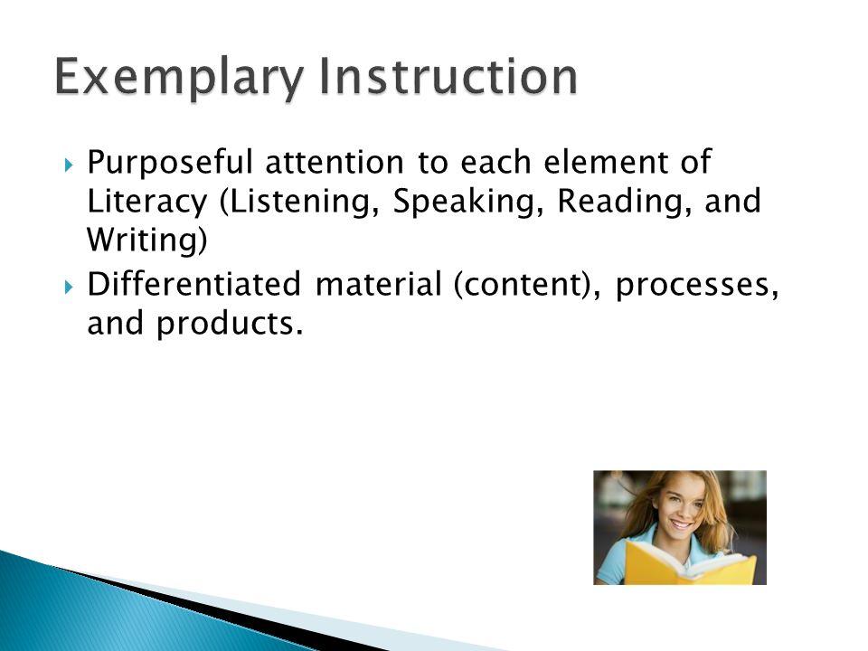 Exemplary Instruction