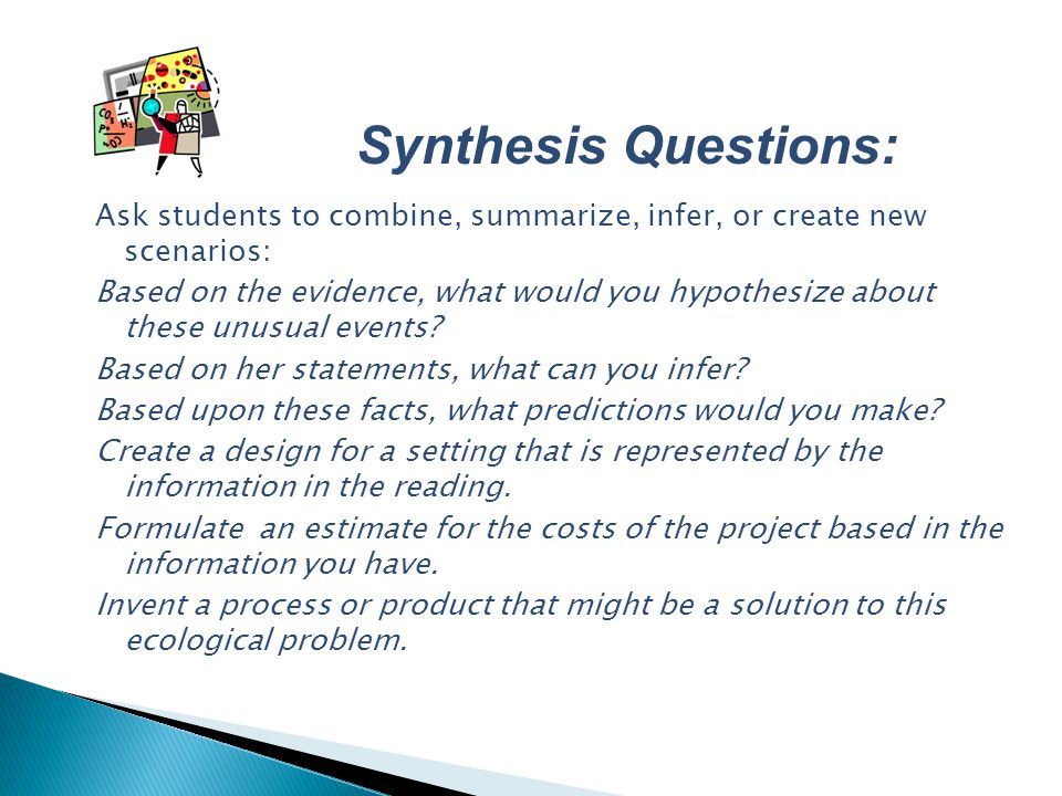Synthesis Questions: