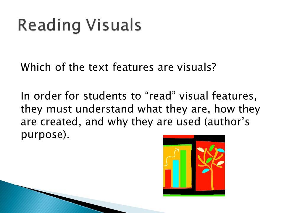 Reading Visuals
