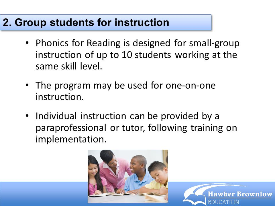 2. Group students for instruction