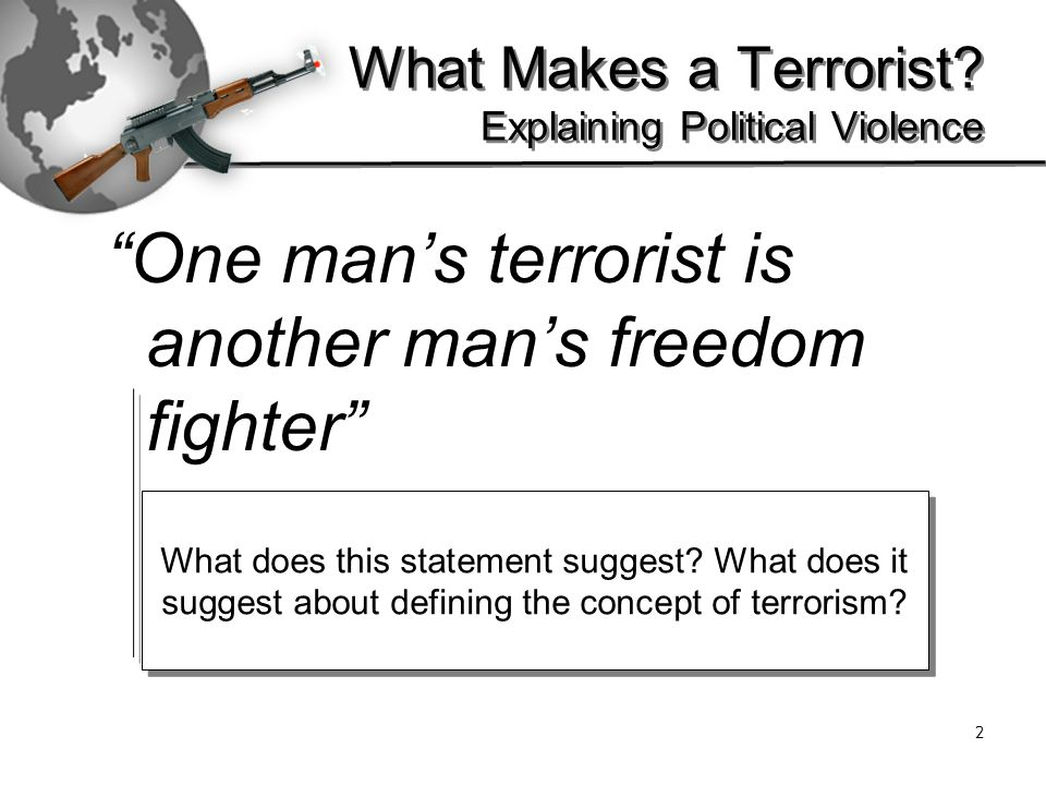 Are the Taliban freedom fighters?