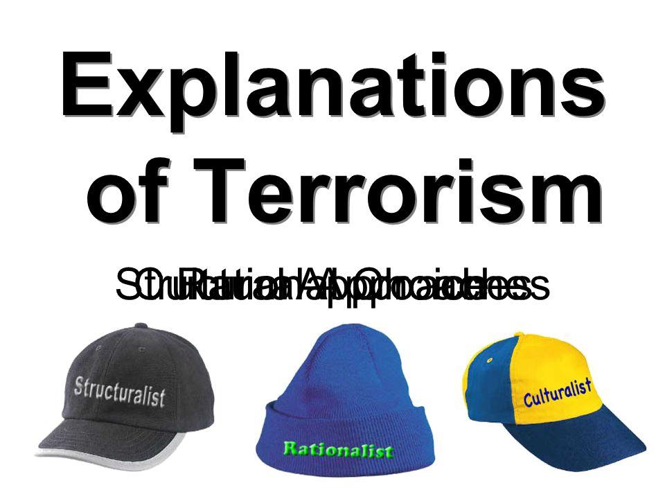 Explanations of Terrorism