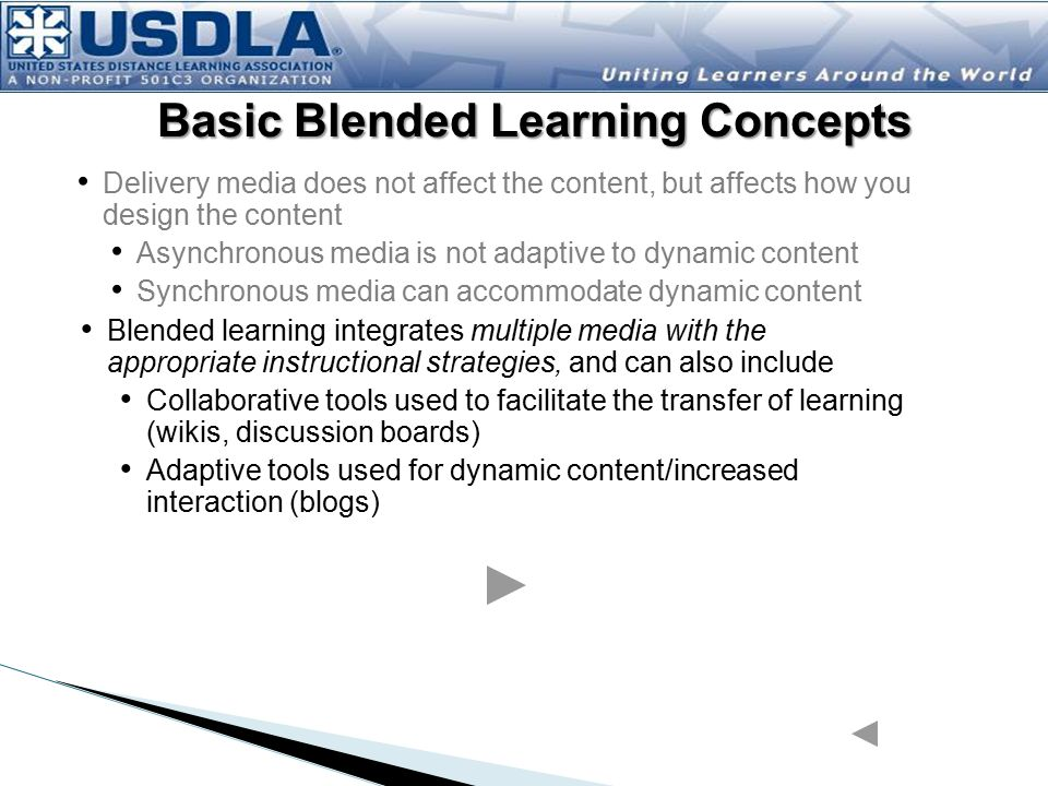 Basic Blended Learning Concepts