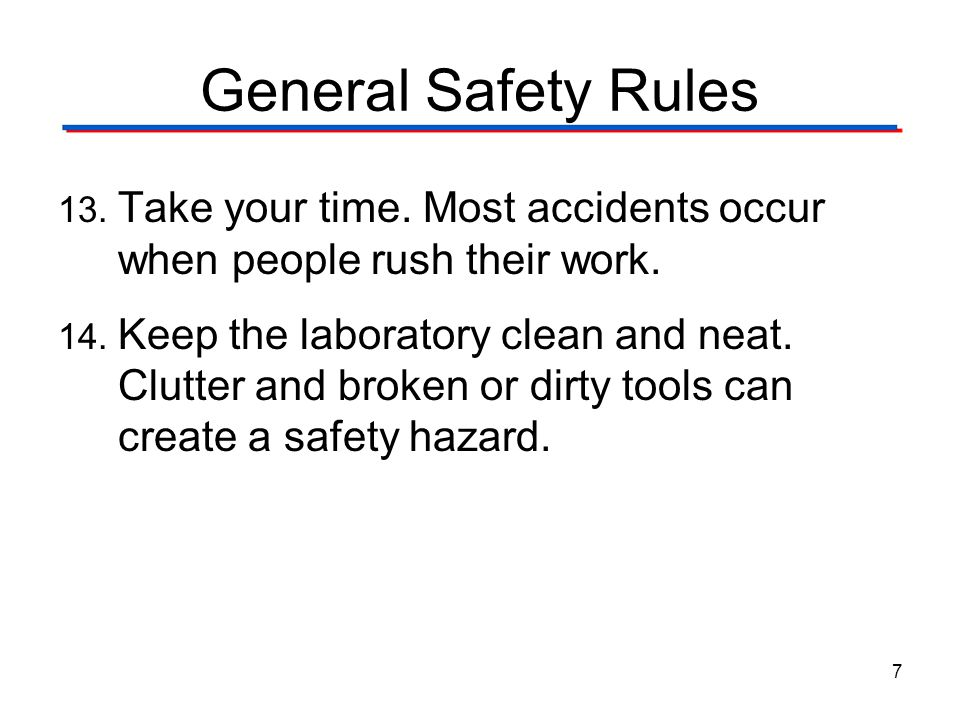 General Safety Digital Electronics TM. 1.1 Foundations and The Board Game Counter. General Safety Rules.