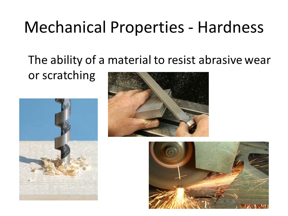 Mechanical Properties - Hardness
