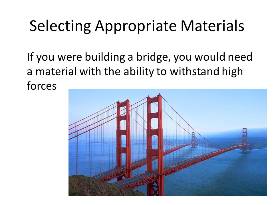 Understand the terms used to describe the properties of for List of materials needed to build a house