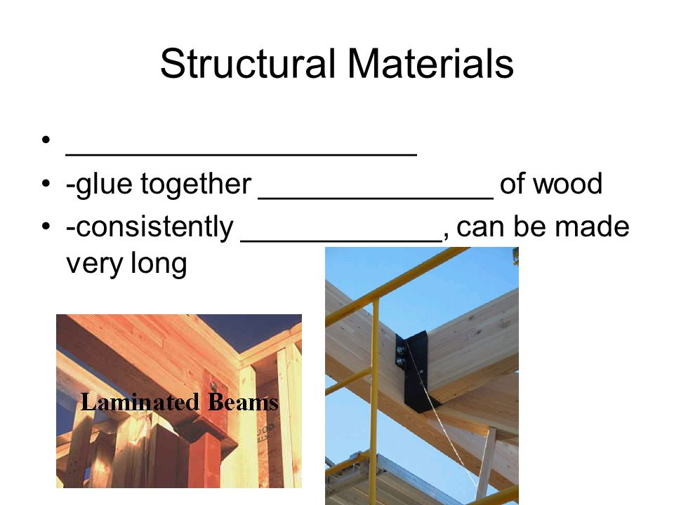 Structural Materials _____________________