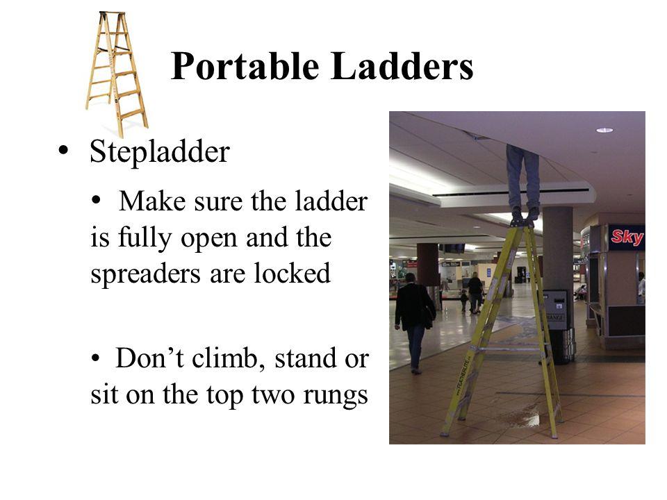 Portable Ladders Stepladder