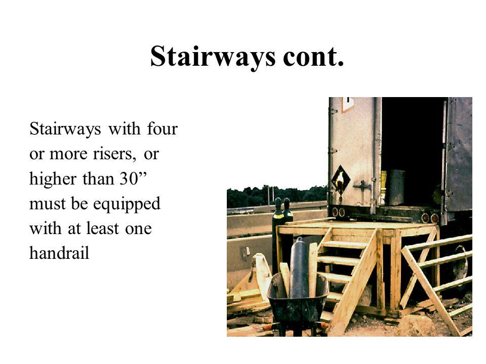 Stairways cont.