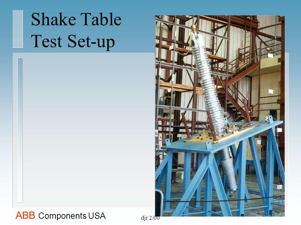 Shake Table Test Set-up