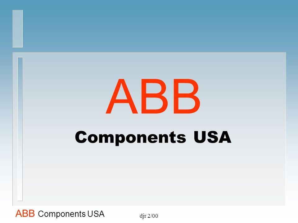 ABB Components USA djr 2/00
