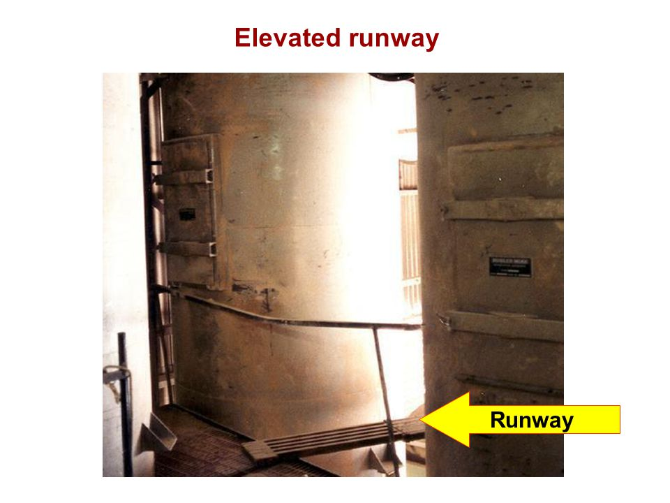 Elevated runway Runway