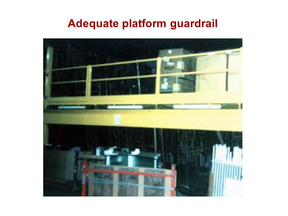 Adequate platform guardrail