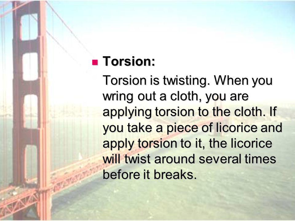 Torsion: